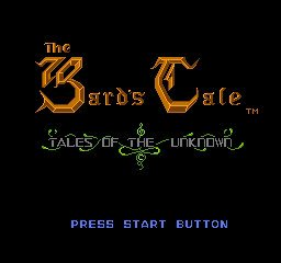 Bard's Tale, The - Tales of the Unknown