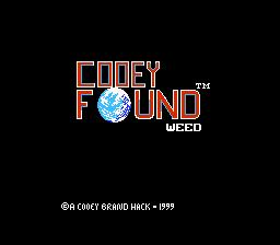 Cooey Found Weed (Earth Bound Hack)