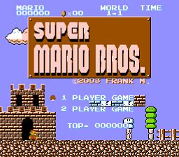 Frank's Second Ultimate Super Mario Bros Normal Version (SMB1 Hack)